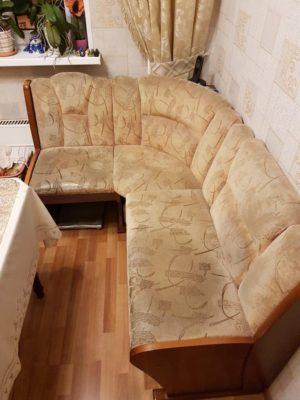 Кухонный уголок До перетяжки