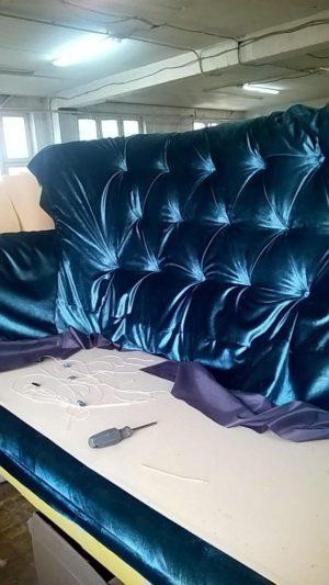 Изготовление мебели в процессе работы